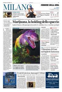 Corriere della Sera Milano – 12 ottobre 2018