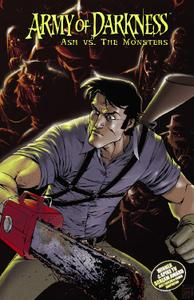 Dynamite-Army Of Darkness Ash Vs The Monsters 2020 Hybrid Comic eBook