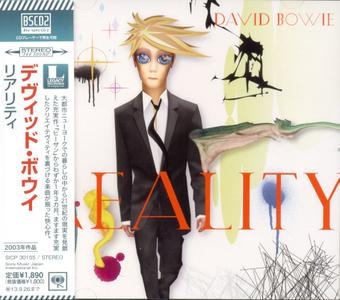 David Bowie - Reality (2003) [Japanese Blu-spec CD2]