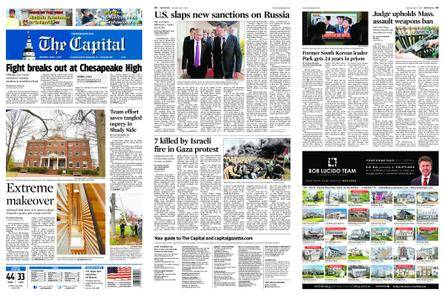 The Capital – April 07, 2018
