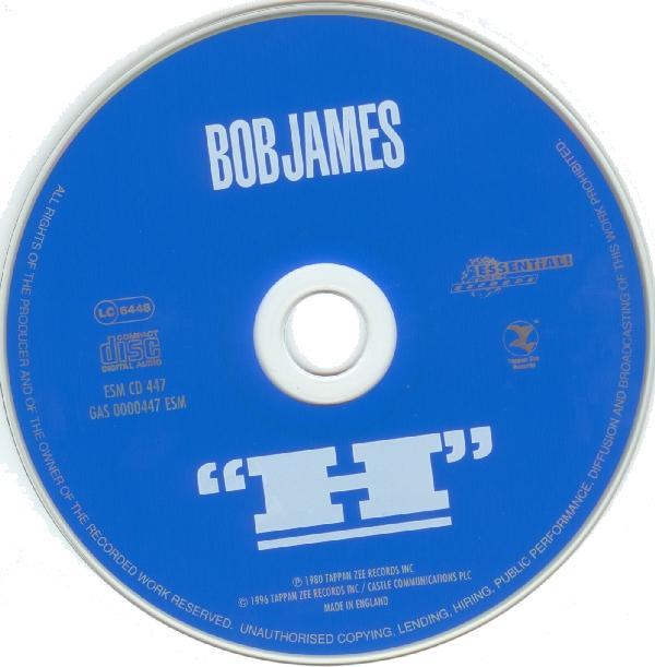 Bob James - H (1979) {EMS 447}