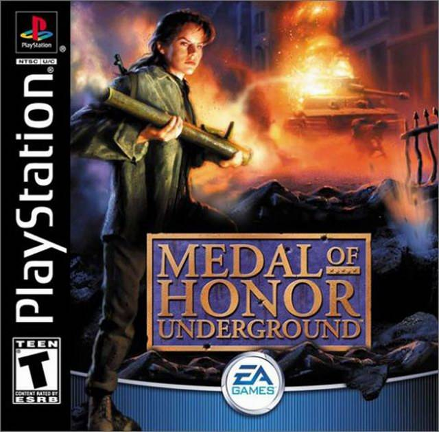 PSX-PSP] Medal Of Honor - Underground (2000) / AvaxHome