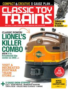 Classic Toy Trains - July 2019