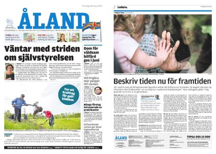 Ålandstidningen – 28 maj 2020