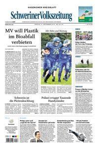 Schweriner Volkszeitung Hagenower Kreisblatt - 21. September 2018