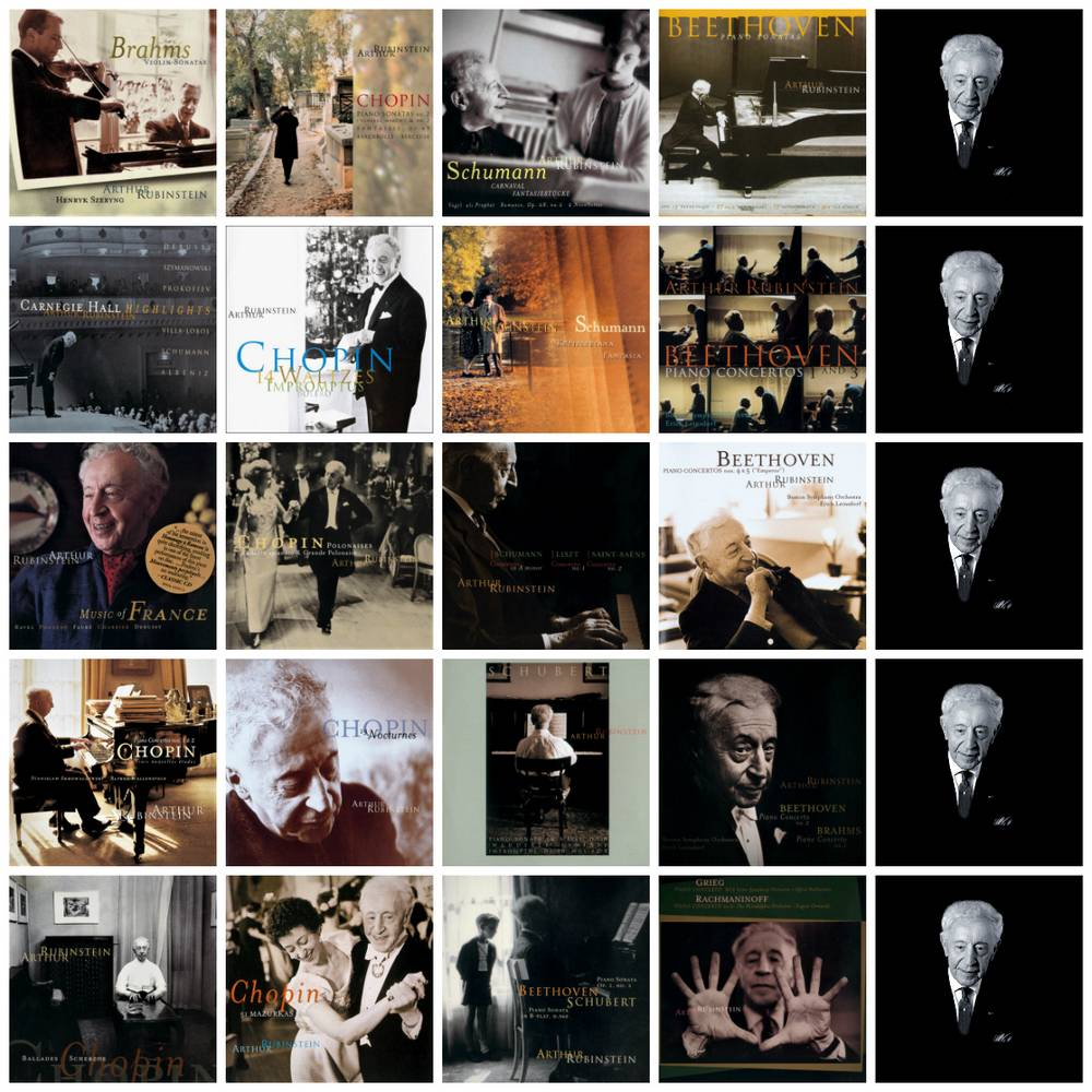 Artur Rubinstein - The Rubinstein Collection (1999) [94-CD