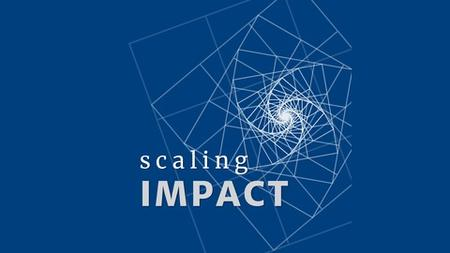 Play by Play: Scaling Impact