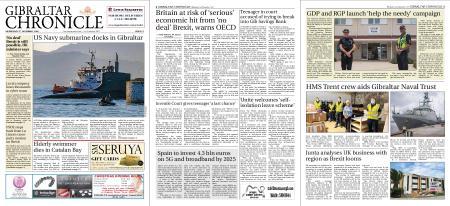 Gibraltar Chronicle – 02 December 2020