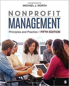 Nonprofit Management: Principles and Practice Fifth Edition