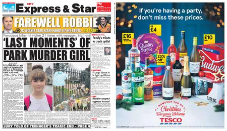 Express and Star City Edition – November 29, 2018
