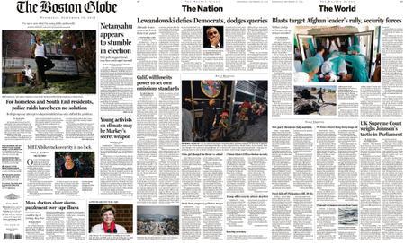 The Boston Globe – September 18, 2019