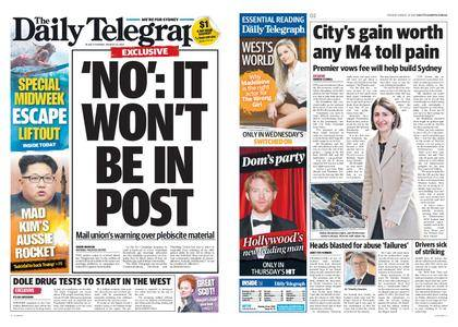 The Daily Telegraph (Sydney) – August 22, 2017
