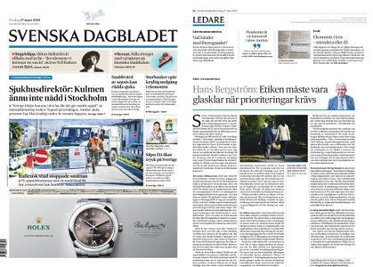 Svenska Dagbladet – 27 mars 2020
