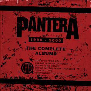 Pantera - The Complete Albums 1990-2000 (2016) [Official Digital Download]
