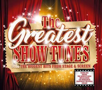 VA - The Greatest Show Tunes (3CD, 2018)
