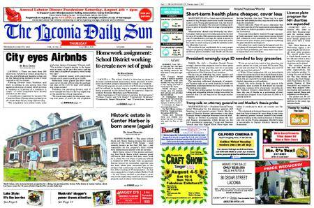 The Laconia Daily Sun – August 02, 2018