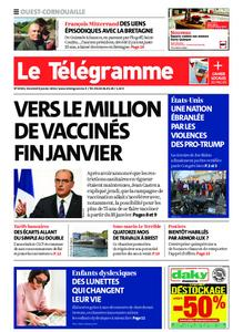 Le Télégramme Ouest Cornouaille – 08 janvier 2021