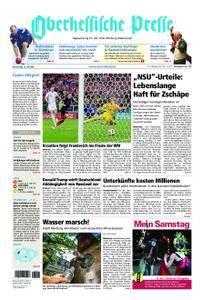 Oberhessische Presse Marburg/Ostkreis - 12. Juli 2018