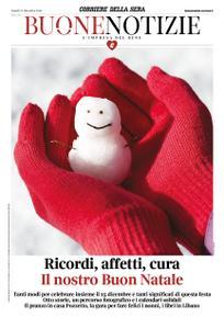 Corriere della Sera Buone Notizie – 24 dicembre 2018