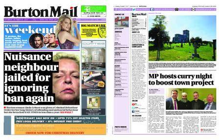 Burton Mail – October 21, 2017