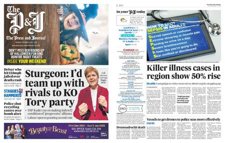 The Press and Journal Moray – October 31, 2019
