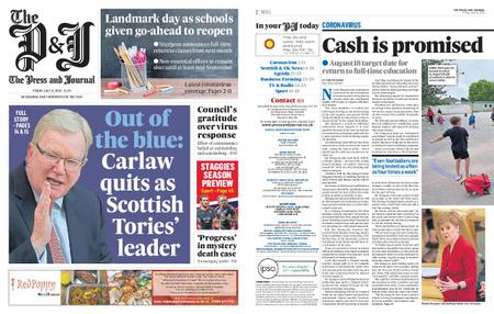 The Press and Journal Moray – July 31, 2020