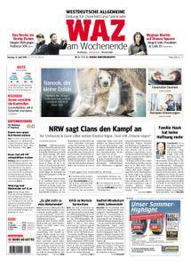 WAZ Westdeutsche Allgemeine Zeitung Oberhausen-Sterkrade - 14. April 2018