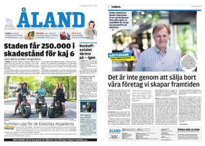 Ålandstidningen – 13 juli 2018