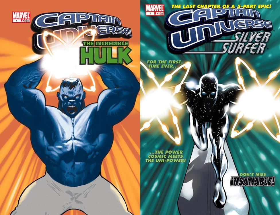 Captain Universe #1-5 Complete Marvel 2006 Series