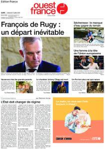 Ouest-France Édition France – 17 juillet 2019