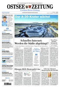 Ostsee Zeitung Wolgast - 09. Februar 2018