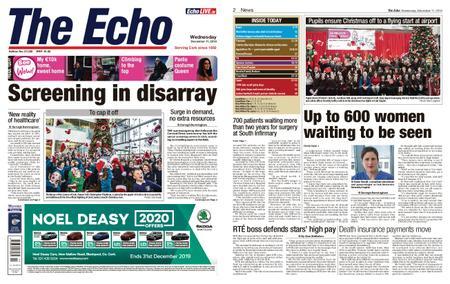 Evening Echo – December 11, 2019