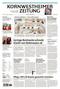 Kornwestheimer Zeitung - 18. Januar 2019