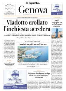 la Repubblica Genova - 12 Dicembre 2019