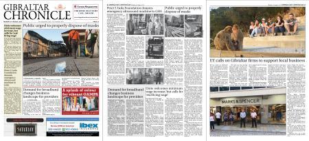 Gibraltar Chronicle – 03 August 2020