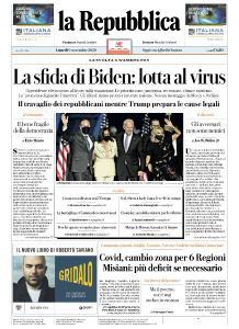la Repubblica - 9 Novembre 2020