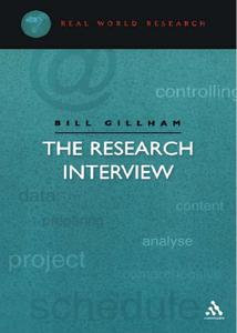 The Research Interview (repost)