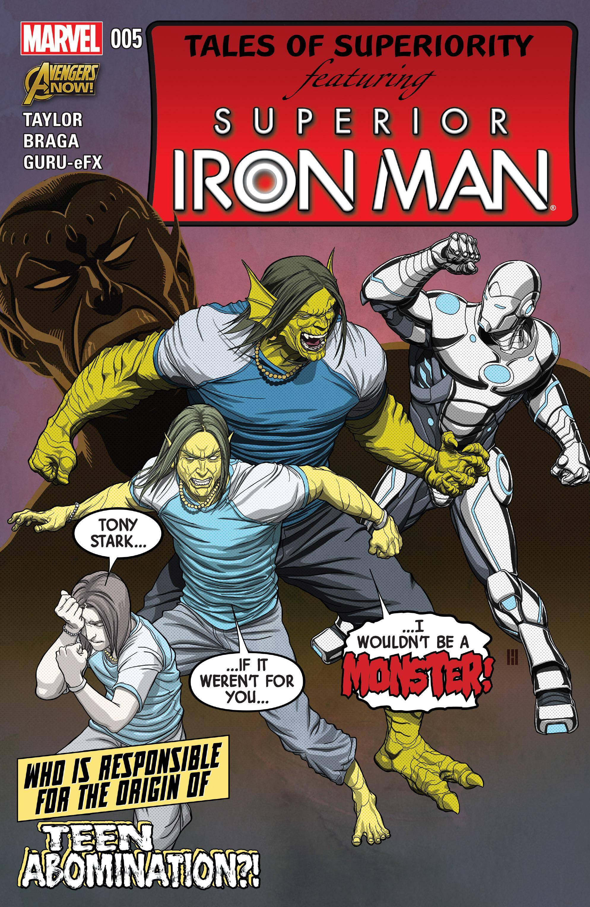 Superior Iron Man 05 2015 Digital