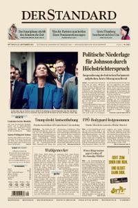 Der Standard – 25. September 2019