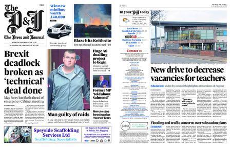 The Press and Journal Moray – November 14, 2018