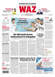 WAZ Westdeutsche Allgemeine Zeitung Oberhausen-Sterkrade - 06. März 2019