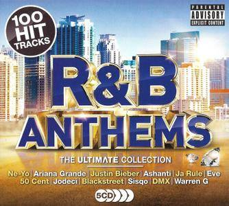 Various Artists - R&B Anthems: The Ultimate Collection [5CD] (2017)