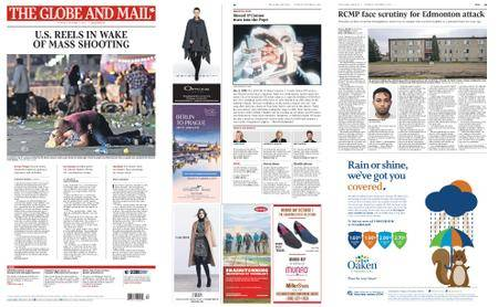 The Globe and Mail – October 03, 2017