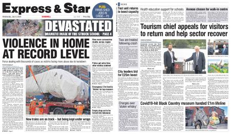 Express and Star Sandwell Edition – July 08, 2020