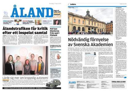 Ålandstidningen – 07 mars 2019