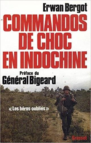 Commandos de choc en Indochine - Erwan Bergot