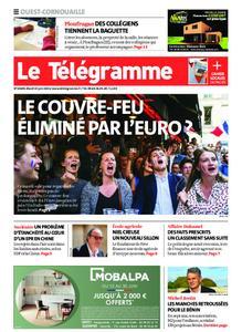 Le Télégramme Ouest Cornouaille – 15 juin 2021