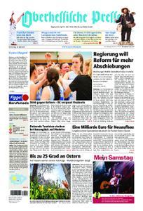 Oberhessische Presse Marburg/Ostkreis - 18. April 2019