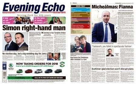 Evening Echo – November 29, 2017