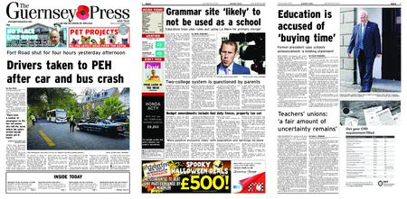 The Guernsey Press – 26 October 2018